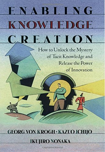 9780195126167: Enabling Knowledge Creation: How to Unlock the Mystery of Tacit Knowledge and Release the Power of Innovation