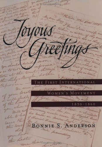 9780195126235: Joyous Greetings: The First International Women's Movement, 1830-1860