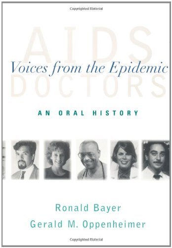 9780195126815: AIDS Doctors: Voices from the Epidemic