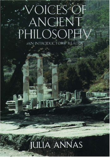 9780195126945: Voices of Ancient Philosophy: An Introductory Reader