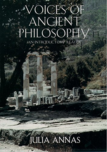 9780195126952: Voices of Ancient Philosophy: An Introductory Reader