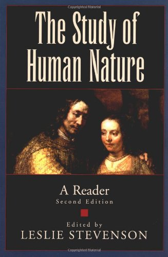 9780195127157: The Study of Human Nature: A Reader