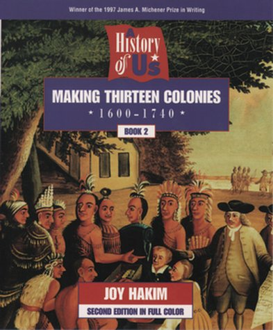 9780195127546: A History of US: Book 2: Making Thirteen Colonies (1600-1740)
