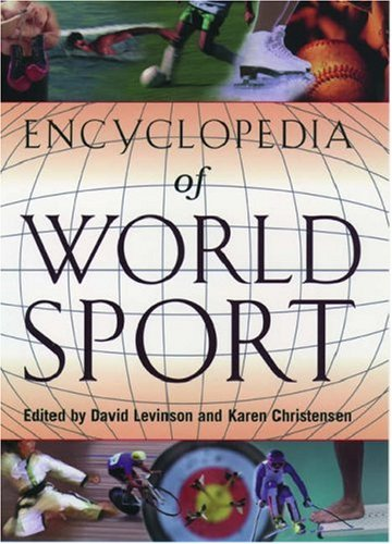 9780195127782: Encyclopedia of World Sport: From Ancient Times to the Present