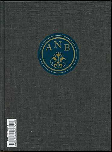 American National Biography: Editor-John Arthur Garraty;