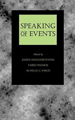 Speaking of Events: James Higginbotham