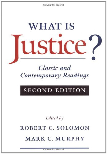 9780195128109: What Is Justice?: Classic and Contemporary Readings