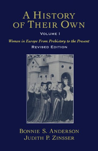 9780195128383: A History of Their Own: Women in Europe from Prehistory to the Present, Vol. 1