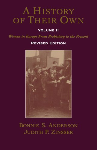 9780195128390: A History of Their Own: Women in Europe from Prehistory to the Present, Vol. 2