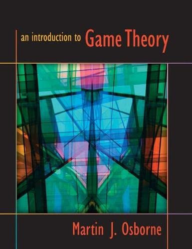 9780195128956: An Introduction to Game Theory