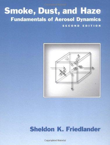 9780195129991: Smoke, Dust, and Haze: Fundamentals of Aerosol Dynamics (Topics in Chemical Engineering)