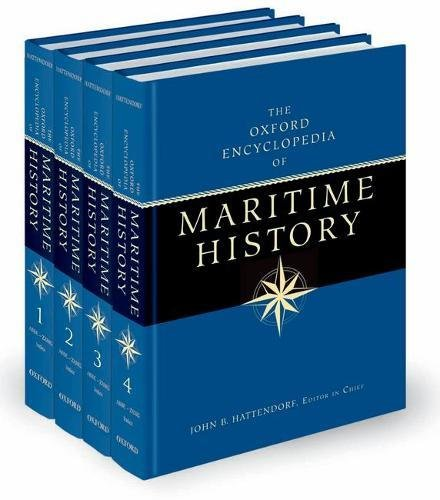 9780195130751: The Oxford Encyclopedia of Maritime History (set of 4 volume)