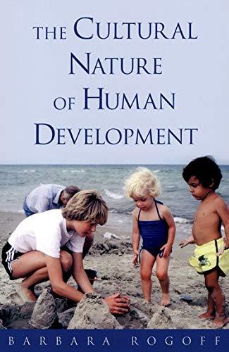 9780195131338: The Cultural Nature of Human Development