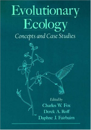 9780195131543: Evolutionary Ecology: Concepts and Case Studies