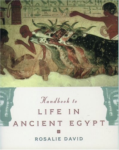 9780195132151: The Handbook to Life in Ancient Egypt