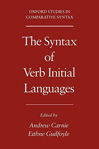 9780195132236: The Syntax of Verb Initial Languages (Oxford Studies in Comparative Syntax)