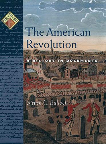 9780195132243: The American Revolution: A History in Documents (Pages from History)
