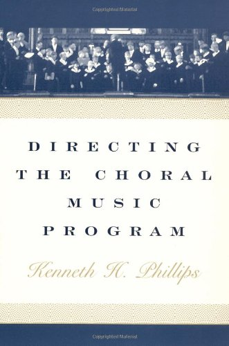 9780195132823: Directing the Choral Music Program