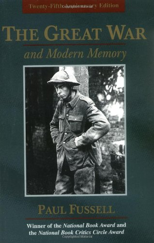 9780195133325: The Great War and Modern Memory