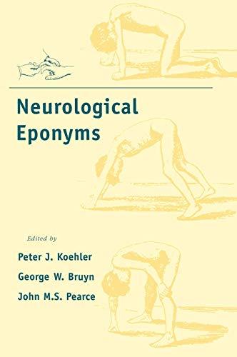 9780195133660: Neurological Eponyms