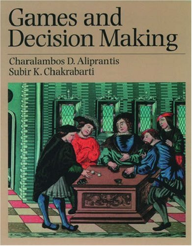 9780195133691: Solutions Manual Games and Decision Making