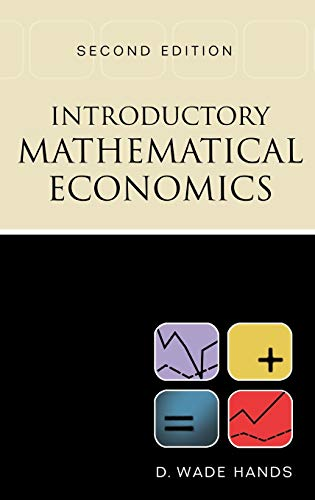 9780195133783: Introductory Mathematical Economics