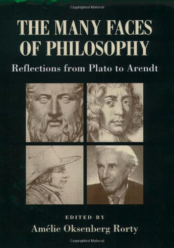 9780195134025: The Many Faces of Philosophy: Reflections from Plato to Arendt