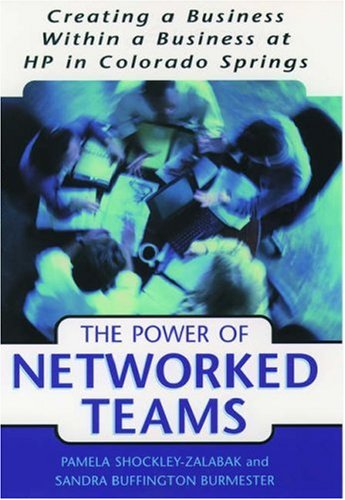 The Power of Networked Teams: Creating a Business Within a Business at Hewlett-Packard in Colorado ...