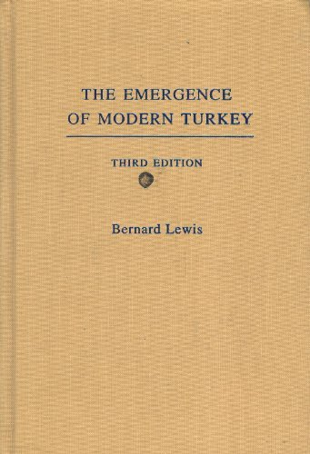 9780195134599: The Emergence of Modern Turkey (Studies in Middle Eastern History)