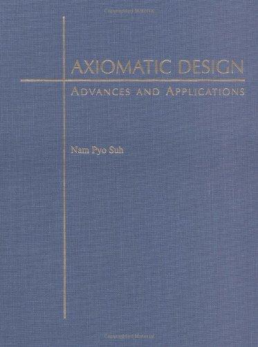 9780195134667: Axiomatic Design: Advances and Applications