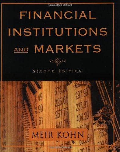 9780195134728: Financial Institutions and Markets