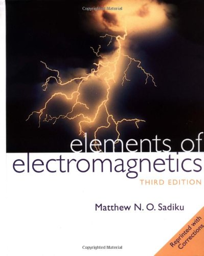 9780195134773: Elements of Electromagnetics