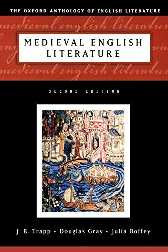 9780195134926: Medieval English Literature (The Oxford Anthology of English Literature)