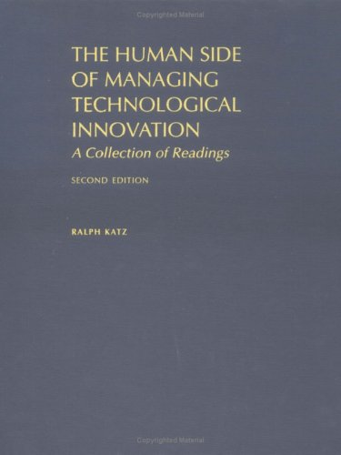 9780195135305: The Human Side of Managing Technological Innovation