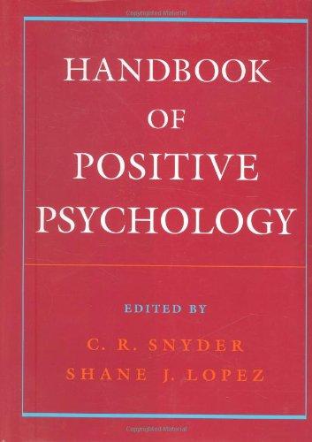 9780195135336: Handbook of Positive Psychology