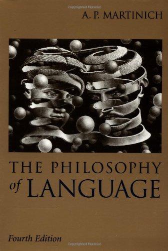 9780195135435: The Philosophy of Language