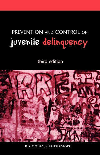 9780195135459: Prevention and Control of Juvenile Delinquency