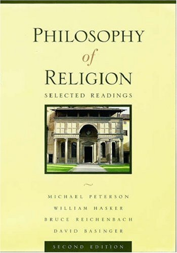 9780195135466: Philosophy of Religion: Selected Readings