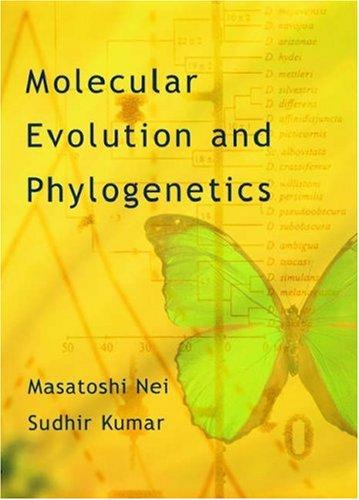 9780195135848: Molecular Evolution and Phylogenetics