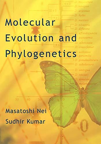 9780195135855: Molecular Evolution and Phylogenetics