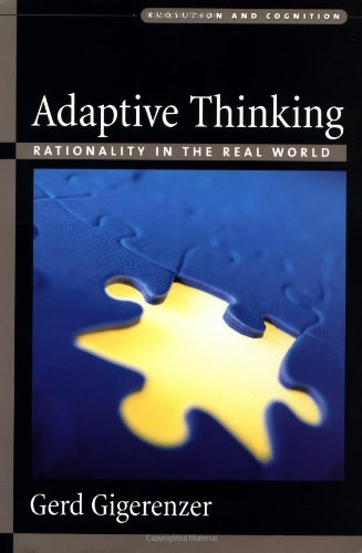 9780195136227: Adaptive Thinking: Rationality in the Real World (Evolution and Cognition Series)
