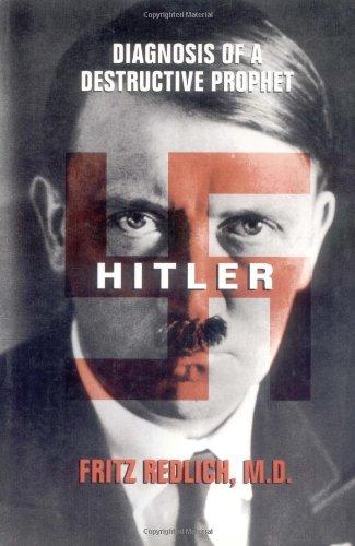 9780195136319: Hitler: Diagnosis of a Destructive Prophet
