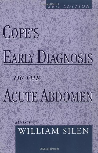 9780195136791: Cope's Early Diagnosis of the Acute Abdomen