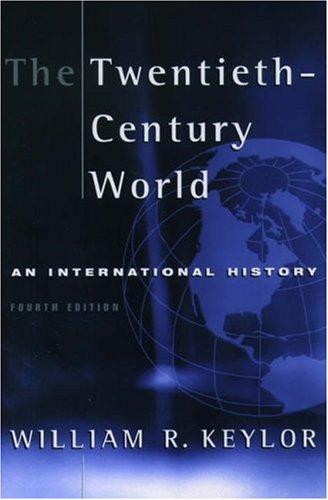 9780195136807: The Twentieth-century World: An International History