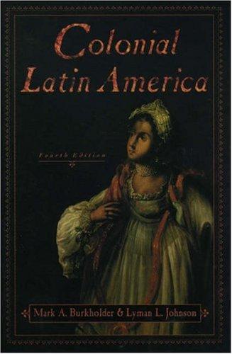 9780195137026: Colonial Latin America