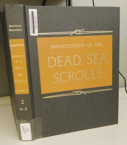 9780195137965: Encyclopedia of the Dead Sea Scrolls: 2