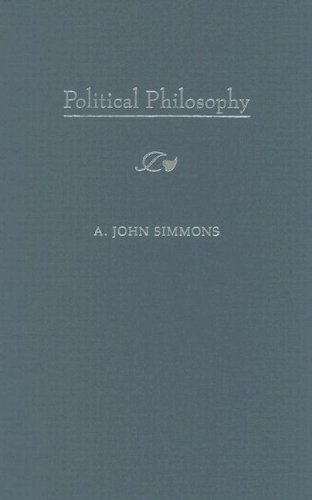 Political Philosophy (Fundamentals of Philosophy Series): Simmons, A. John