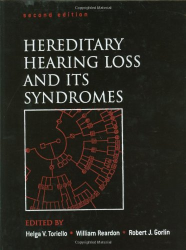 9780195138498: Hereditary Hearing Loss and Its Syndromes (Oxford Monographs on Medical Genetics)