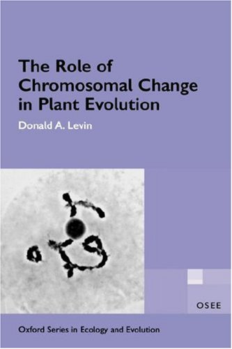 9780195138597: The Role of Chromosomal Change in Plant Evolution (Oxford Series in Ecology and Evolution)