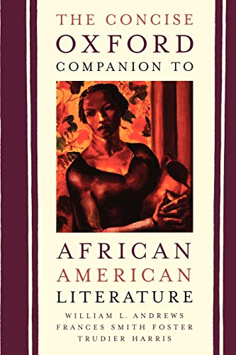 9780195138832: The Concise Oxford Companion to African American Literature